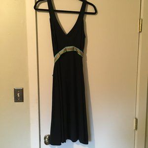 Free People Mid Length Black Dress